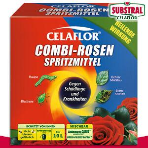 Substral Celaflor 1 Packung 2 x 100 ml Combi-Rosen Spritzmittel Konzentrat