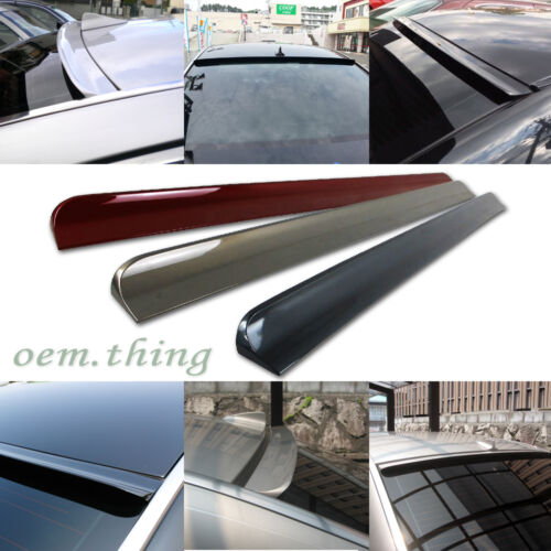 Painted FORD Fiesta 4D Sedan Rear Roof Window Visor Spoiler Wing 08-11 PUF