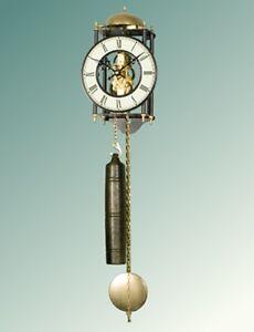 Orologio-a-pendolo-da-parete-cassa-in-metallo-movimento-meccanico-70974-00-Rotex