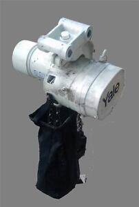 YALE-Heavy-Duty-2-Ton-4000-lb-Hoist-Lift-Tech-3-Phase-Control-Pendant-w-Trolley