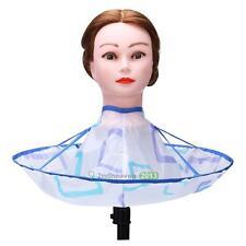 Foldable Kids Adult Hair Cutting Cloak Umbrella Cape Salon Barber Hairdressing