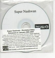 (AH766) Super Nashwan, Rockabye Baby - DJ CD