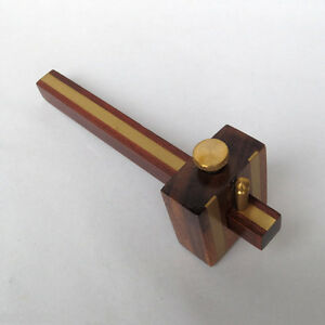 Streichmass-200mm-Anreisswerkzeug-Anreissmass-Tischlerwerkzeug-Anreisser-Holz