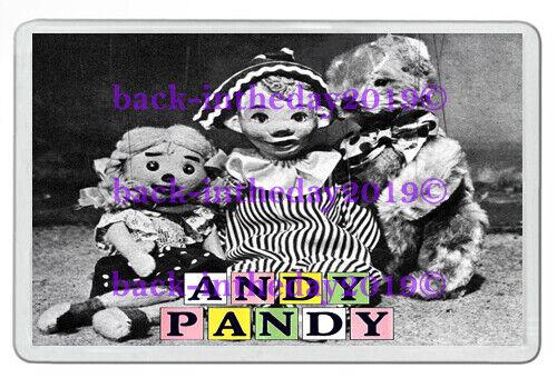CHILDRENS TV NOSTALGIA NEW JUMBO FRIDGE MAGNET ANDY PANDY WHO REMEMBERS