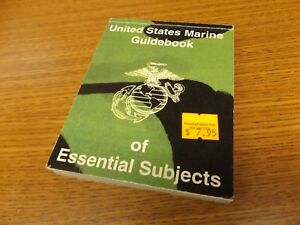 UNITED-STATES-MARINE-GUIDEBOOK-OF-ESSENTIAL-SUBJECTS-1983