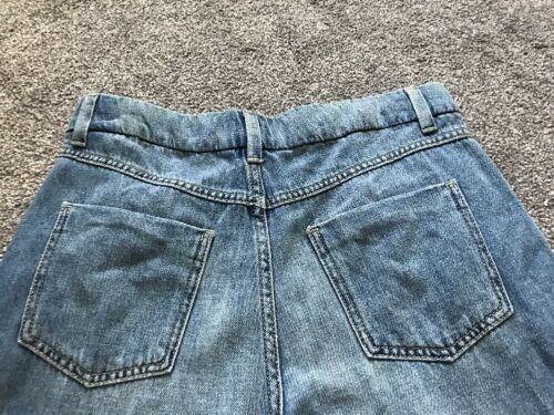 M/&s Medium Indigo Cropped Wide Leg  Pants Size 10 Bnwt Free Sameday Postage