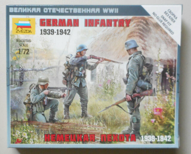 German Paratroopers 1939-42  6136 Zvezda  1:72New!