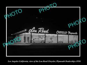 OLD HISTORIC PHOTO LOS ANGELES CALIFORNIA, LOU REED ...