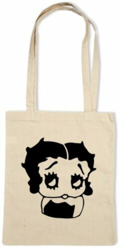 Betty Boop Cotton Tote//Shopping//Shoulder Bag *Choice Of Colours*
