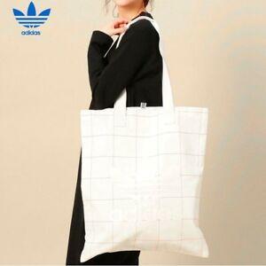 b51883237919 Image is loading Adidas-Originals-Deerupt-Shopper-Bag-CV8462-White-Large-