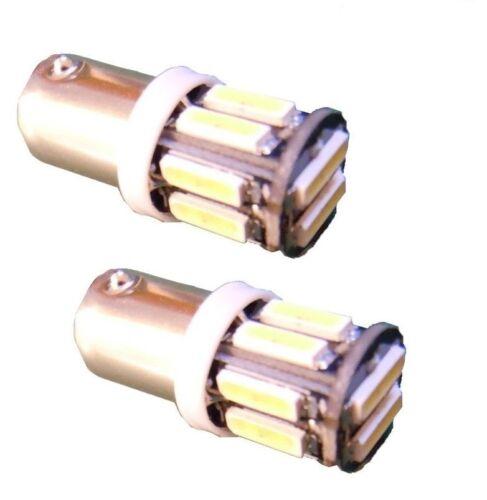 BA9S HIGH POWER White 10 SMD Cree LED Car Side Light Bulb 12V 7020 T4W 360 3893