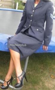 Women-039-s-ladies-RAF-Royal-Air-Force-no2-Dress-Uniform-Skirt-WRAF-all-sizes-listed