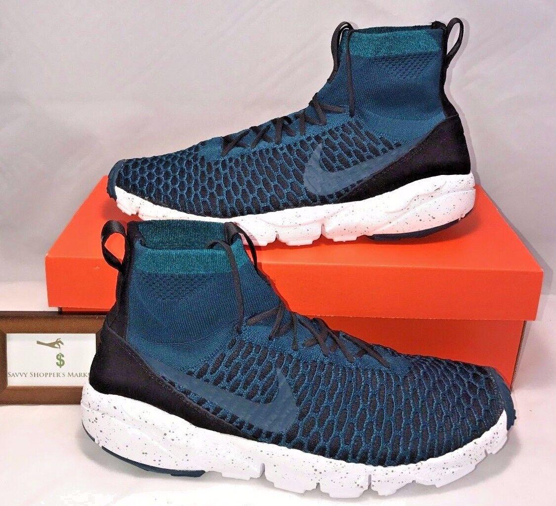 Nike mens größe 11 magista footscape fc fc fc flyknit, blau - weiße laufschuhe 200 dollar. 1e2af1