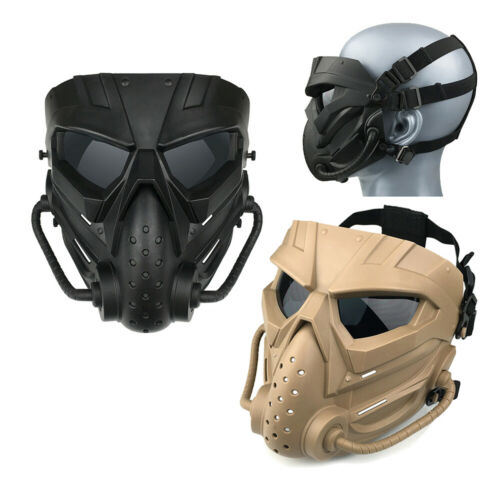 Airsoft Paintball Full Face Combat Spielabdeckung Protective Gear Atmungsaktiv