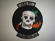 Vietnam War Patch US 463rd Bombardment Group BOMBERS INC.