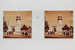 Exposition-Coloniale-de-Paris-1931-Mosquee-Plaque-verre-stereo