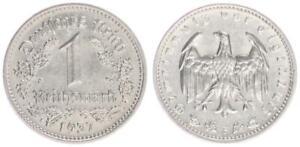 3. Rich 1 Mark J.354 Nickel 1937 F Xf-Bu
