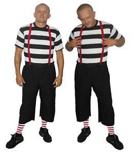 MENS ADULTS ALICE IN WONDERLAND TWEEDLE DEE DUM FANCY DRESS COSTUME BOOK WEEK