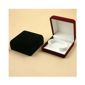 Velvet-Jewellery-Gift-Watch-Display-Boxes-Colour-Choices-Bulk-Deal-Available