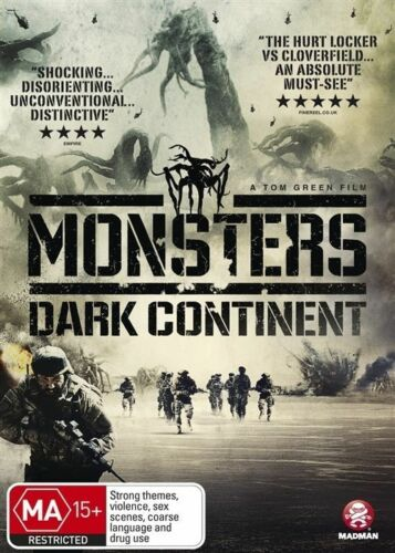 1 of 1 - Monsters: Dark Continent  - DVD - BRAND NEW SEALED Region 4