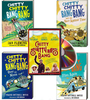 Chitty Chitty Bang Bang 4 Book Set (pb) Race Against Time,over Moon + Free Dvd
