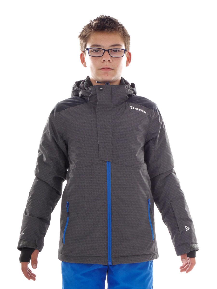 Brunotti Skijacke Winterjacke Funktionsjacke grün Intake Muster warm