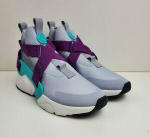 Inmundicia Bibliografía tolerancia  Nike Air Huarache City Running Shoes Women's Size 12.5 Grey Purple AH6787  006 | eBay