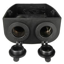 Dual Port 12V Car Cigarette Lighter Socket Jack Splitter Charger Adapter Plug