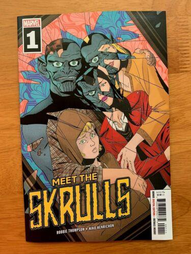 MEET THE SKRULLS 1 Marcos Martin Cover A 1st Print Marvel 2019 NM+