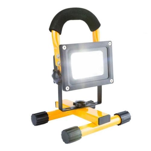 20W  LED FLOOD LIGHT PORTABLE RECHARGEABLE GARAGE WORKSHOP CAR CAMPING