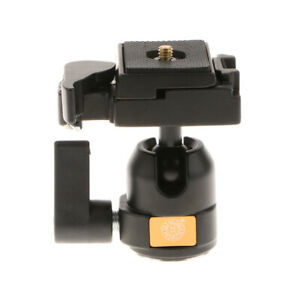 QZSD-001-Kamerastativ-Kugelkopf-36mm-Mit-Schnellwechselplatte-1-4-034-Schraube