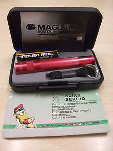 TORCIA-MAGLITE-SOLITAIRE-ROSSO-AAA