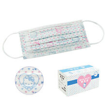 Nail Dental Medical Surgical Disposable  Ear Loop Face Mask 50Pcs  Hello Kitty