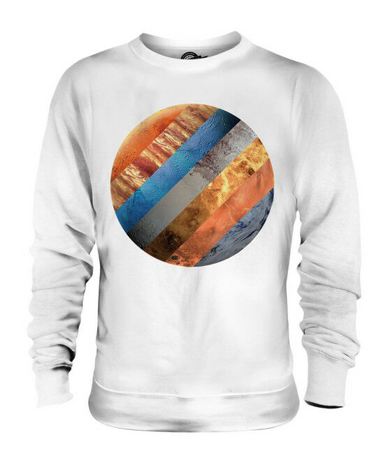 SOLAR SYSTEM PLANETS UNISEX SWEATER  TOP GIFT