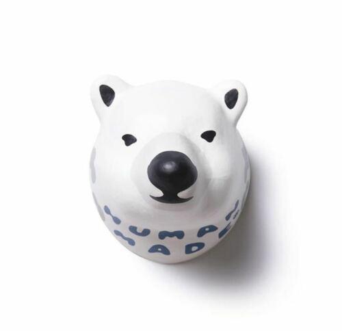 Garden Décor Creative Human Made Polar Bear Head Wall Ornament Decorate