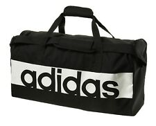 0f0f004d1ead Adidas Linear Performance Medium Bags Black Running GYM Team Bag Sacks  S99959