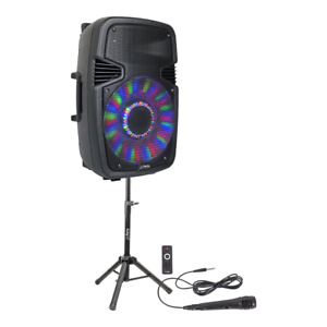 PLS-15-034-800W-Active-Speaker-PA-Sound-System-Bluetooth-Stand-Microphone