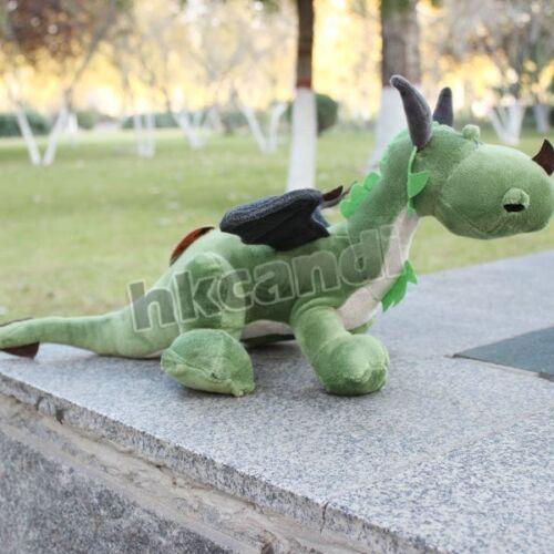 Green dragon 35 CM Green dinosaur Stuffed Animals soft baby dolls plush toy