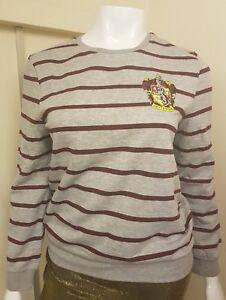 Harry Potter Women/'s Jumper Slytherin or Gryffindor Primark Sweater Ladies