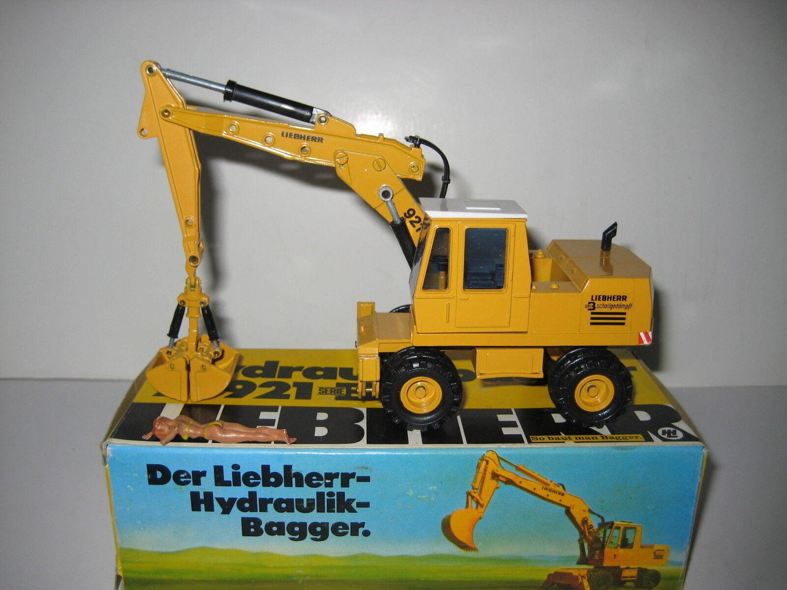 Liebherr a 921 Serie B Excavadora Pinzas Mobil  2821.5 Conrad 1 50 Emb.orig