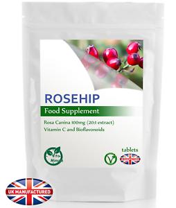 Rosa-CANINA-2000mg-120-Compresse-naturale-Vitamina-C-Bioflavonoidi-antiossidante-Regno-Unito-V