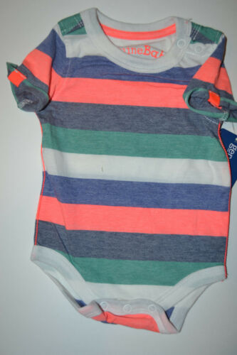 Infant   Genuine Kids Osh Kosh Jean Overall and Stripped Tee   SIZE 3M NWT