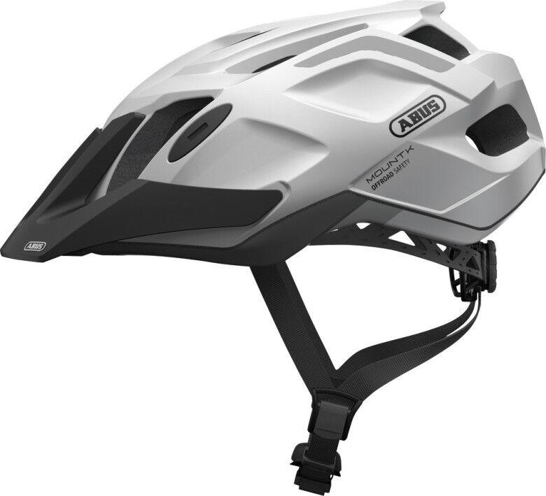 Abus MTB MTB MTB Sport Fahrradhelm MountK snow Weiß Gr  58-62 cm    Bekannt für seine hervorragende Qualität  e8ee0d