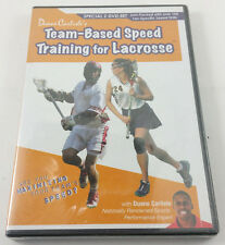 EUC Duane Carlisle's Team-Based Speed Training for Lacrosse DVD- 2 Disc Set NEW!