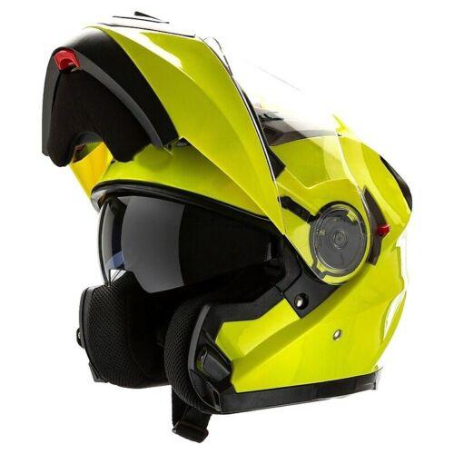 Casco Moto Modulare Motocubo 925 Giallo M3H925HV