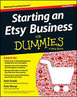 Starting an Etsy Business For Dummies by Kate Shoup (Paperback, 2013)