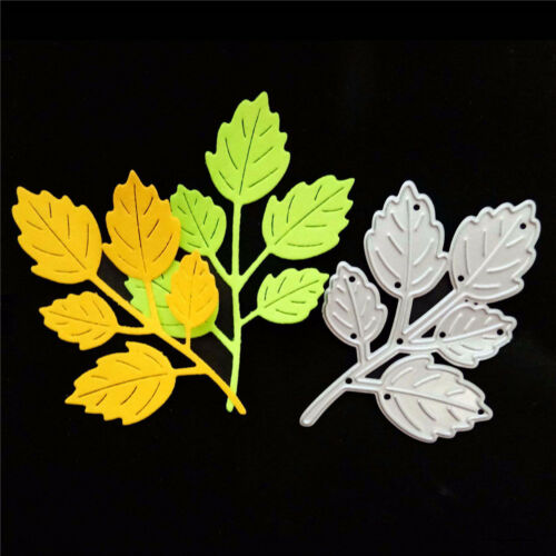 1pc Delicate leaf  Metal Cutting Dies DIY Scrapbooking Paper Cards Crafts J/&S