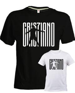 T-shirt, Maglie E Camicie Felpa Bambino Ronaldo Cr7 Juventus Sport Bianca Calcio Uomo Donna Bambino Bambino: Abbigliamento