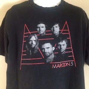 MAROON-5-OFFICIAL-ADAM-LEVINE-2011-TOUR-XL-T-SHIRT-ROCK