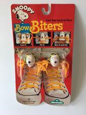 Vintage Snoopy Peanuts Bow Biters
